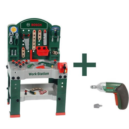 theo klein 8583 bosch workstation zubeh r ixolino akkuschrauber ebay. Black Bedroom Furniture Sets. Home Design Ideas