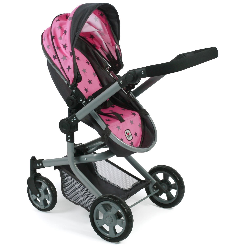 Babypuppen & Zubehör Kombi-Puppenwagen MIKA Sternchen