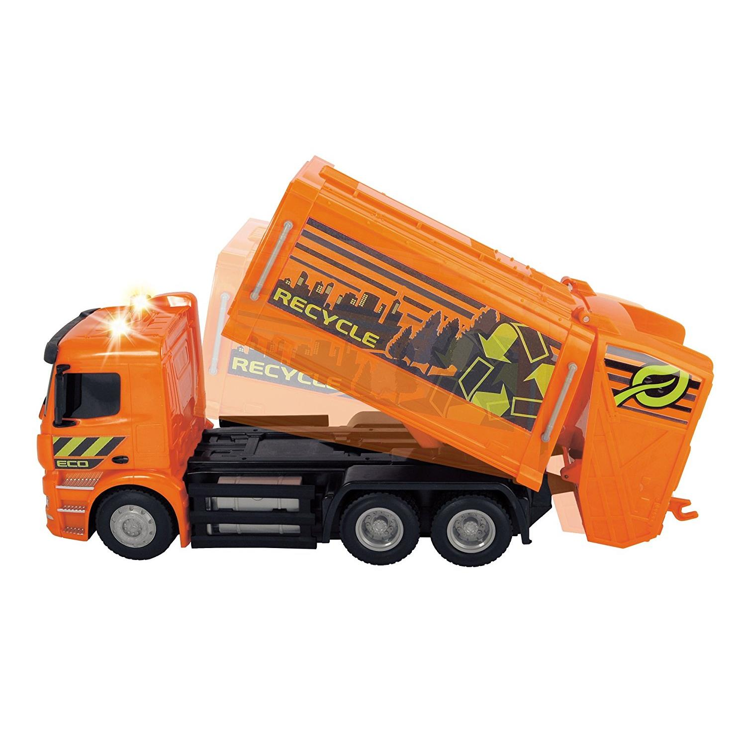 Dickie 201119084 rc mercedes benz antos garbage truck rtr for Mercedes benz truck toys