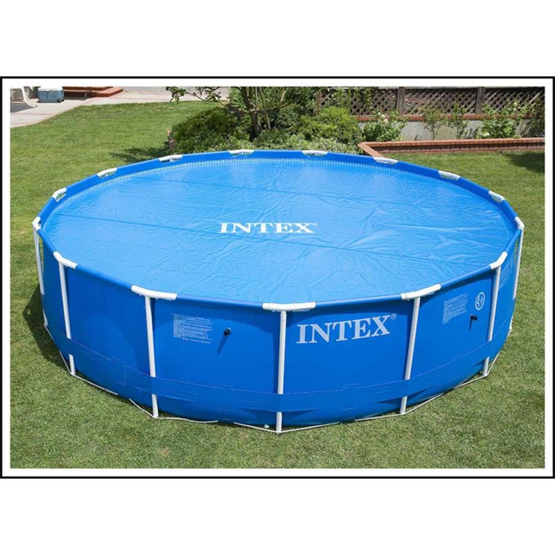 intex 29022 solarabdeckplane f r easy frame pool 366 cm. Black Bedroom Furniture Sets. Home Design Ideas
