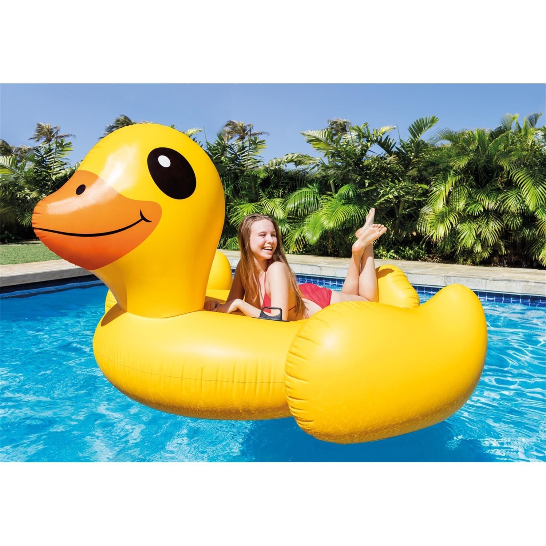 Intex 56286eu Badeinsel Mega Yellow Duck Island
