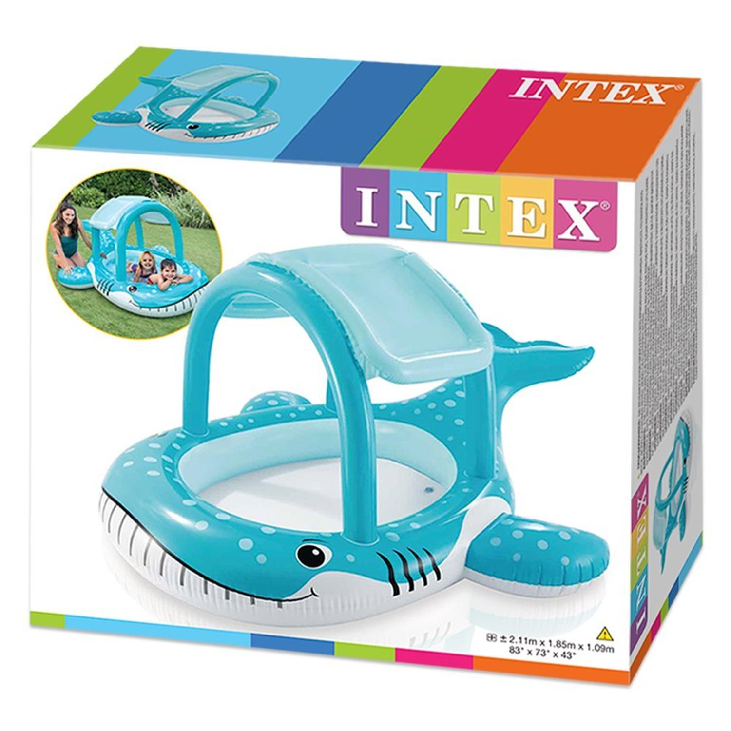 Intex 57125np baby pool shade pool wal - Playmobil piscina ballena ...