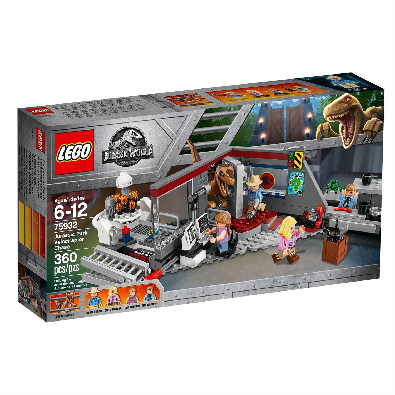 Lego 75932 Jurassic World Jagd auf den Velociraptor