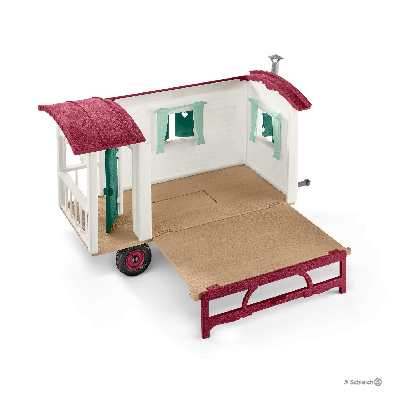 schleich 42415 horse club wohnwagen f r geheime club treffen. Black Bedroom Furniture Sets. Home Design Ideas