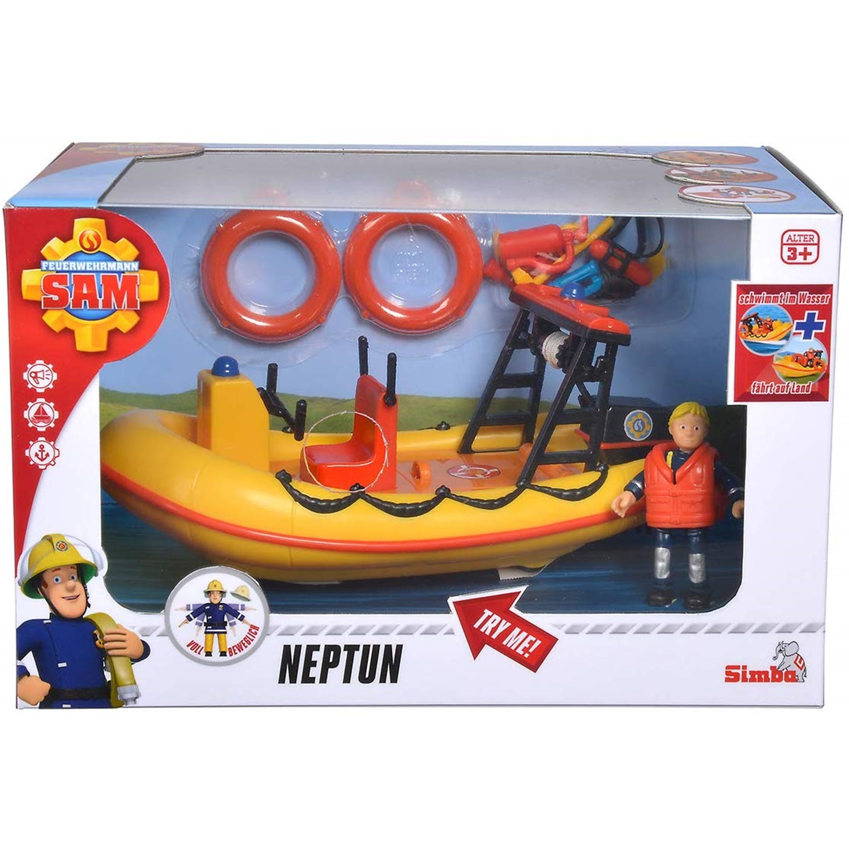 simba toys 109251047 feuerwehrmann sam neptune  boot mit