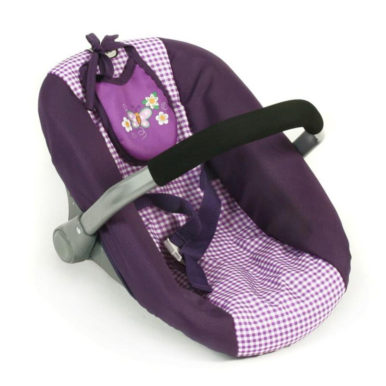 Purple Checker Bayer Chic 2000 853 28 Puppen-Wickeltasche