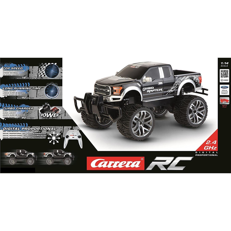 carrera rc 370142027 rc ford f 150 raptor black. Black Bedroom Furniture Sets. Home Design Ideas