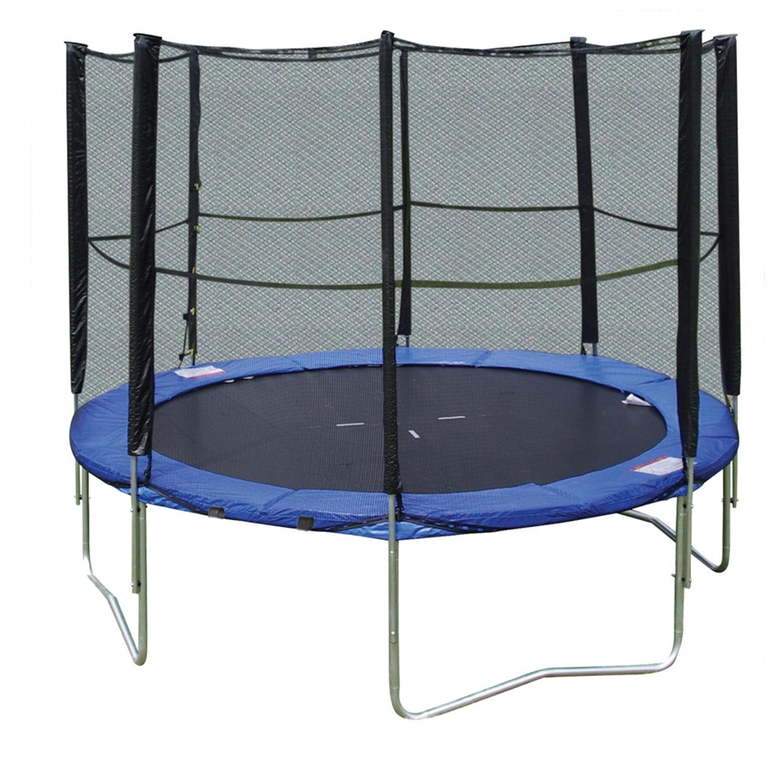 toys world jubiset400 trampolin 400 cm mit sicherheitsnetz leiter. Black Bedroom Furniture Sets. Home Design Ideas
