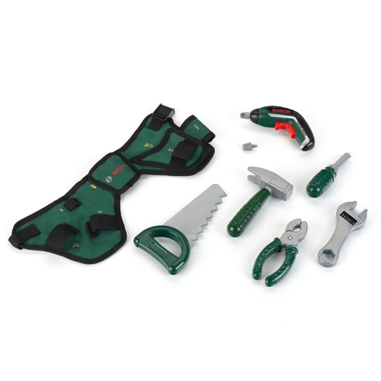 Theo Klein 8313 BOSCH Werkzeuggürtel mit Ixolino II