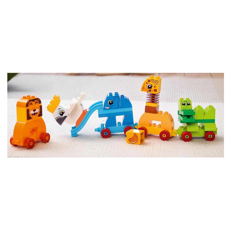 LEGO Bau- & Konstruktionsspielzeug LEGO Baukästen & Sets 10863 LEGO Duplo Meine erste Steinebox mit Ziehtieren