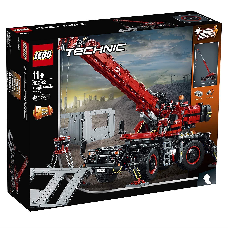 lego 42082 technic gel ndeg ngiger kranwagen. Black Bedroom Furniture Sets. Home Design Ideas