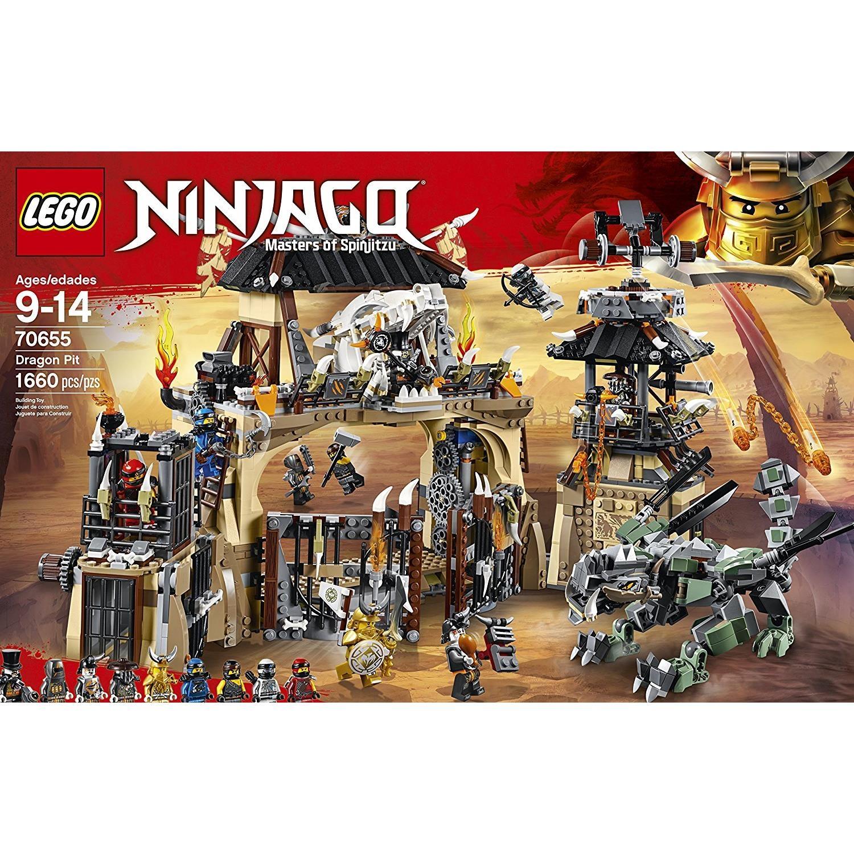 Lego 70655 ninjago drachengrube - Ninja vert lego ...