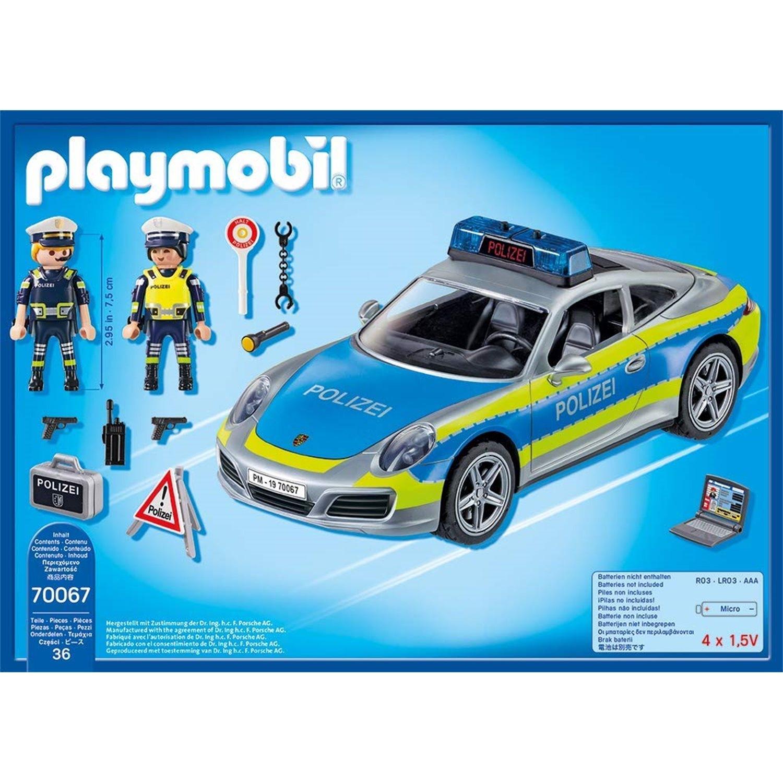 playmobil 70067 porsche 911 carrera 4s polizei. Black Bedroom Furniture Sets. Home Design Ideas