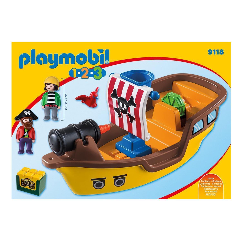 playmobil 9118 1 2 3 piratenschiff. Black Bedroom Furniture Sets. Home Design Ideas