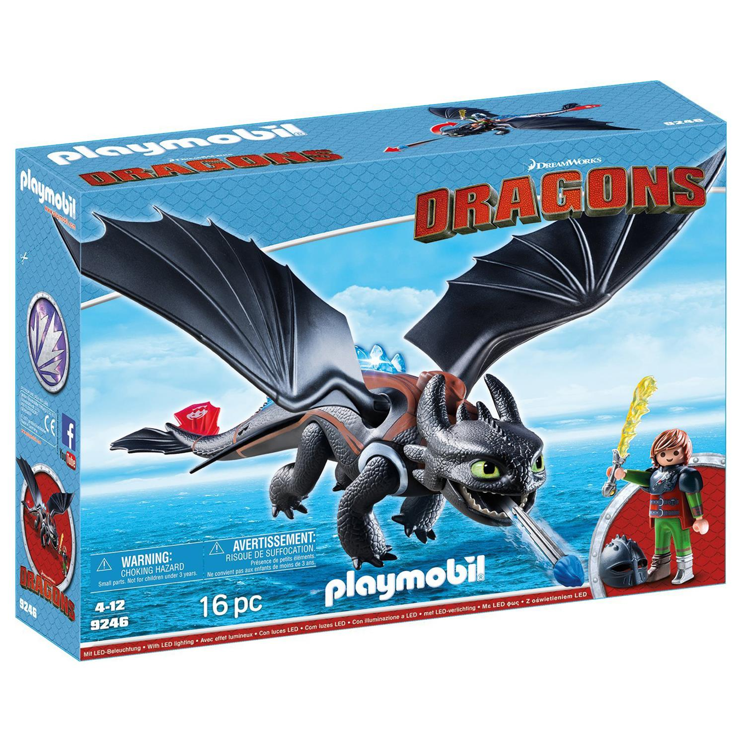 PLAYMOBIL 9246 Dragons - Hicks und Ohnezahn