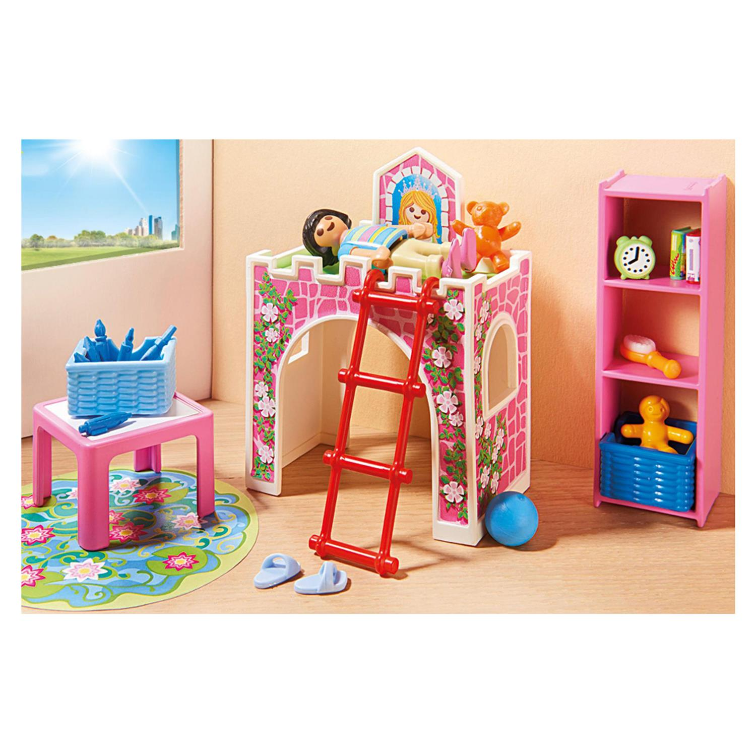 playmobil 9270 fr hliches kinderzimmer. Black Bedroom Furniture Sets. Home Design Ideas