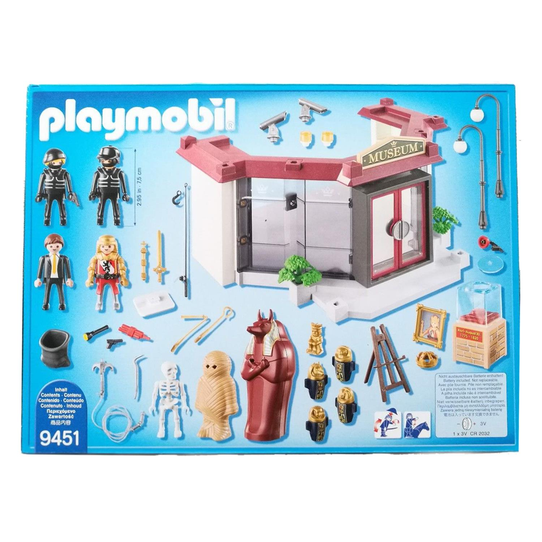 playmobil 9451 museums u00fcberfall