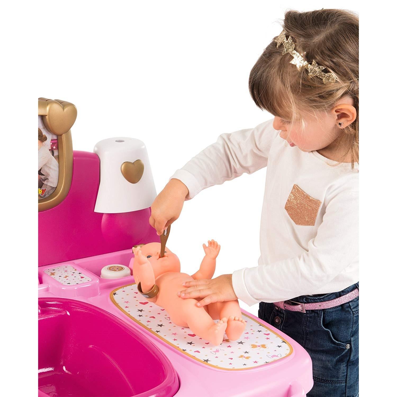 smoby 220327 baby nurse puppen spielcenter. Black Bedroom Furniture Sets. Home Design Ideas