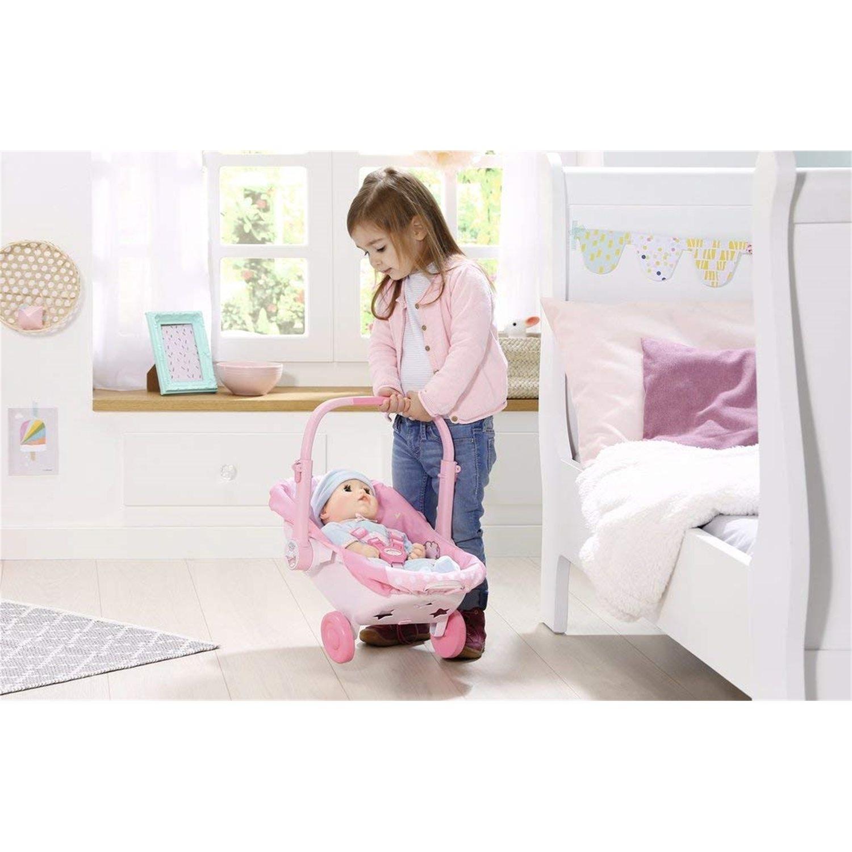 Puppen & Zubehör Zapf Creation 700709 Baby Annabell® Babyschale mit Rädern