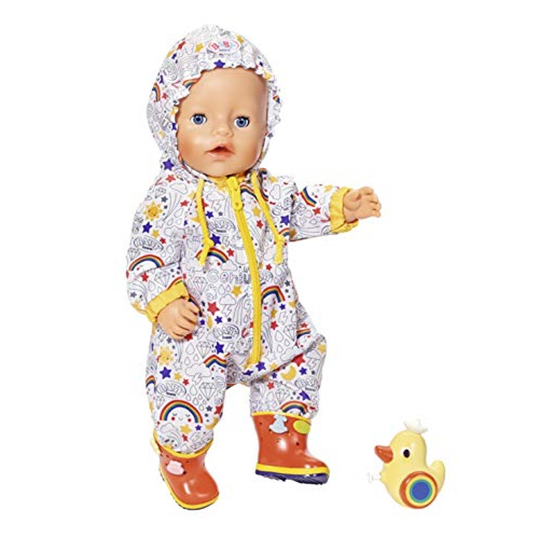 Puppenkleidung Overall Matschoutfit Zapf BABY born Deluxe Matschhose Set