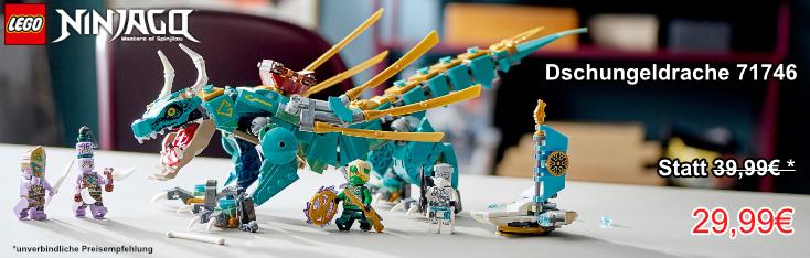 Lego 71746 Ninjago Dschungeldrache