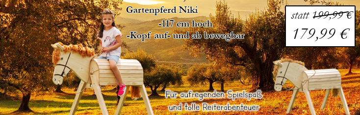 Gartenpferd Niki
