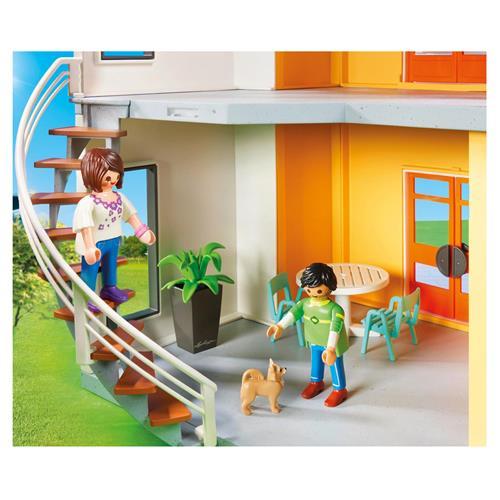 Détails sur PLAYMOBIL 9266 City Life - Maison moderne
